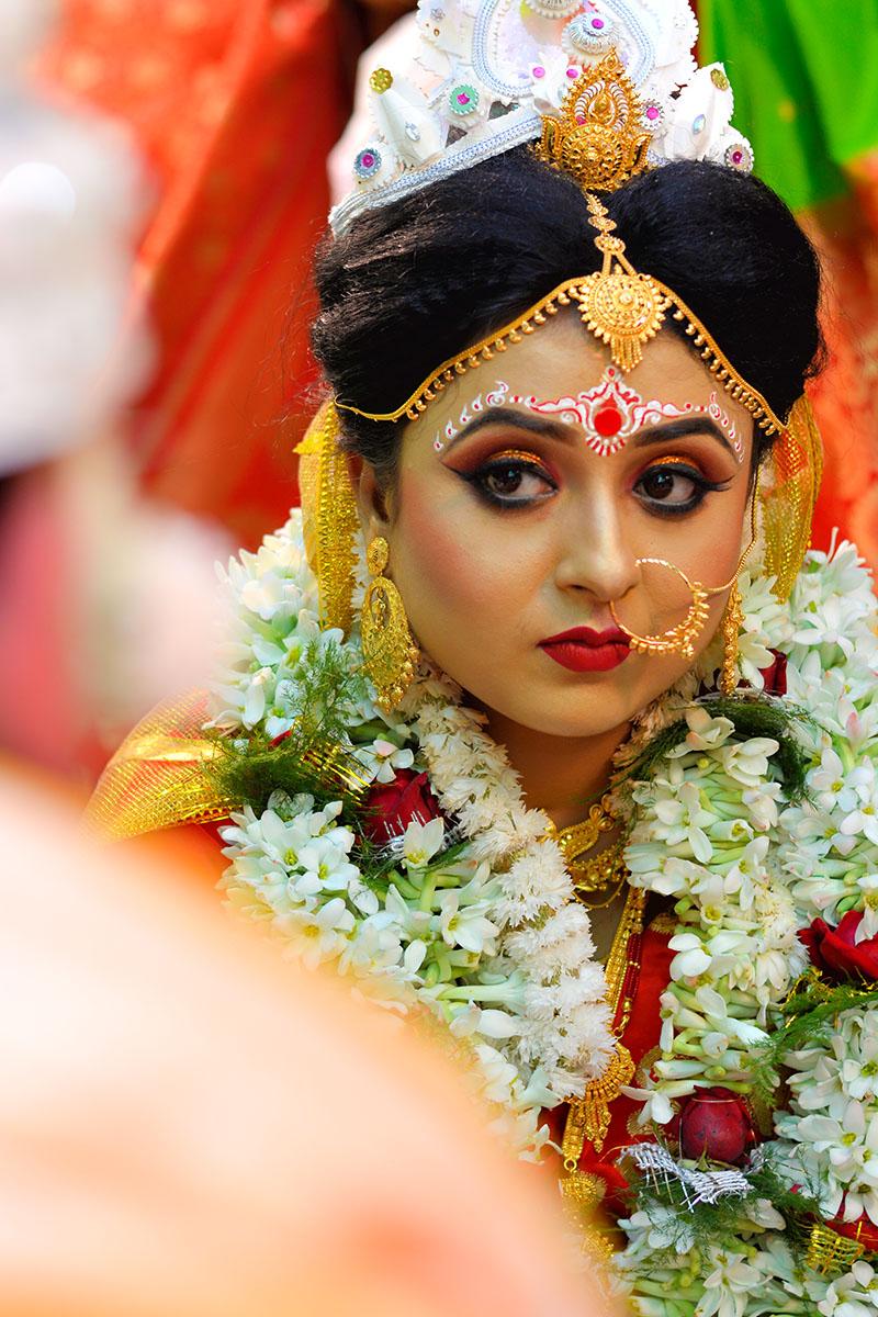 bengali bride candid photography