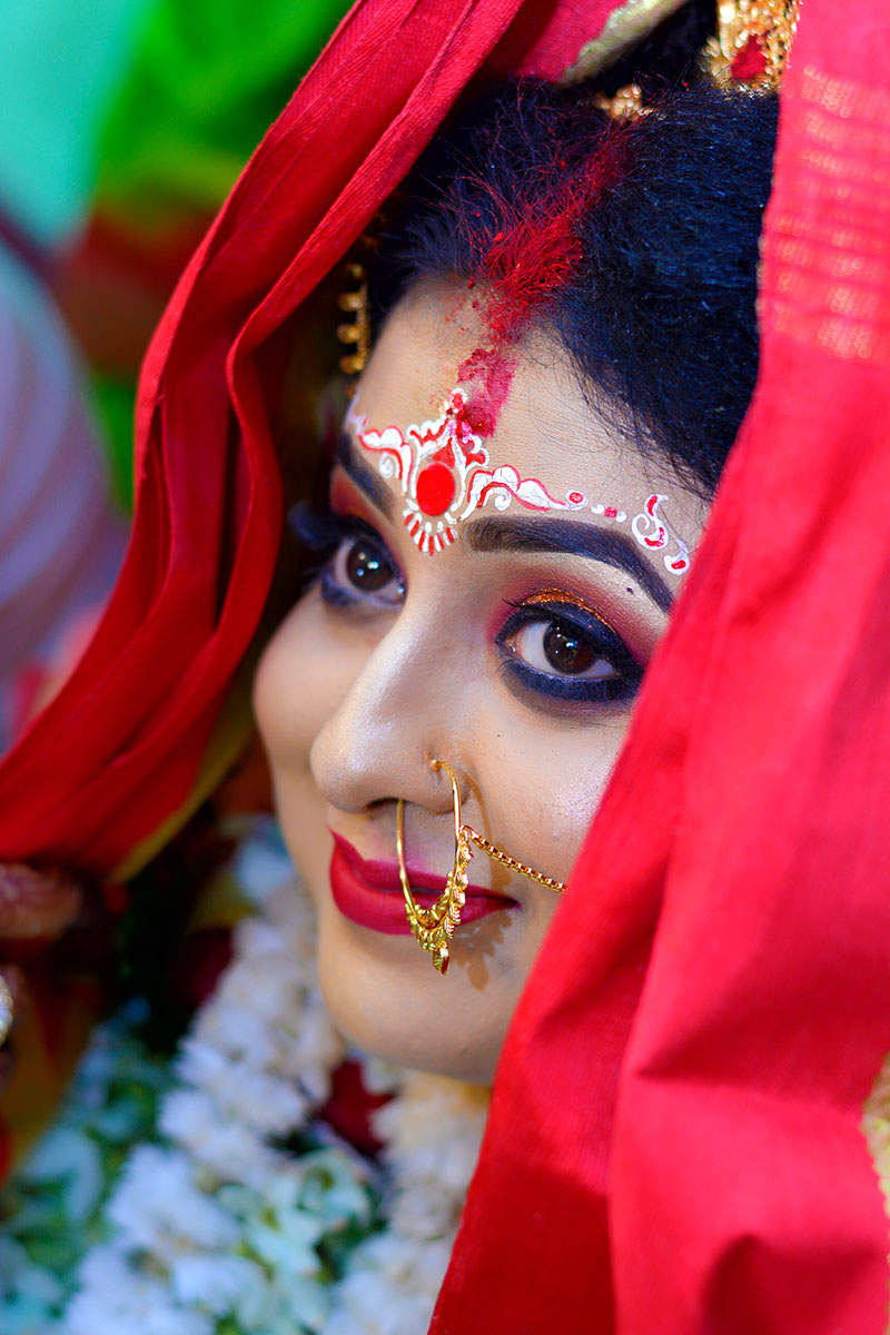 bride sindur daan photography by myclicks