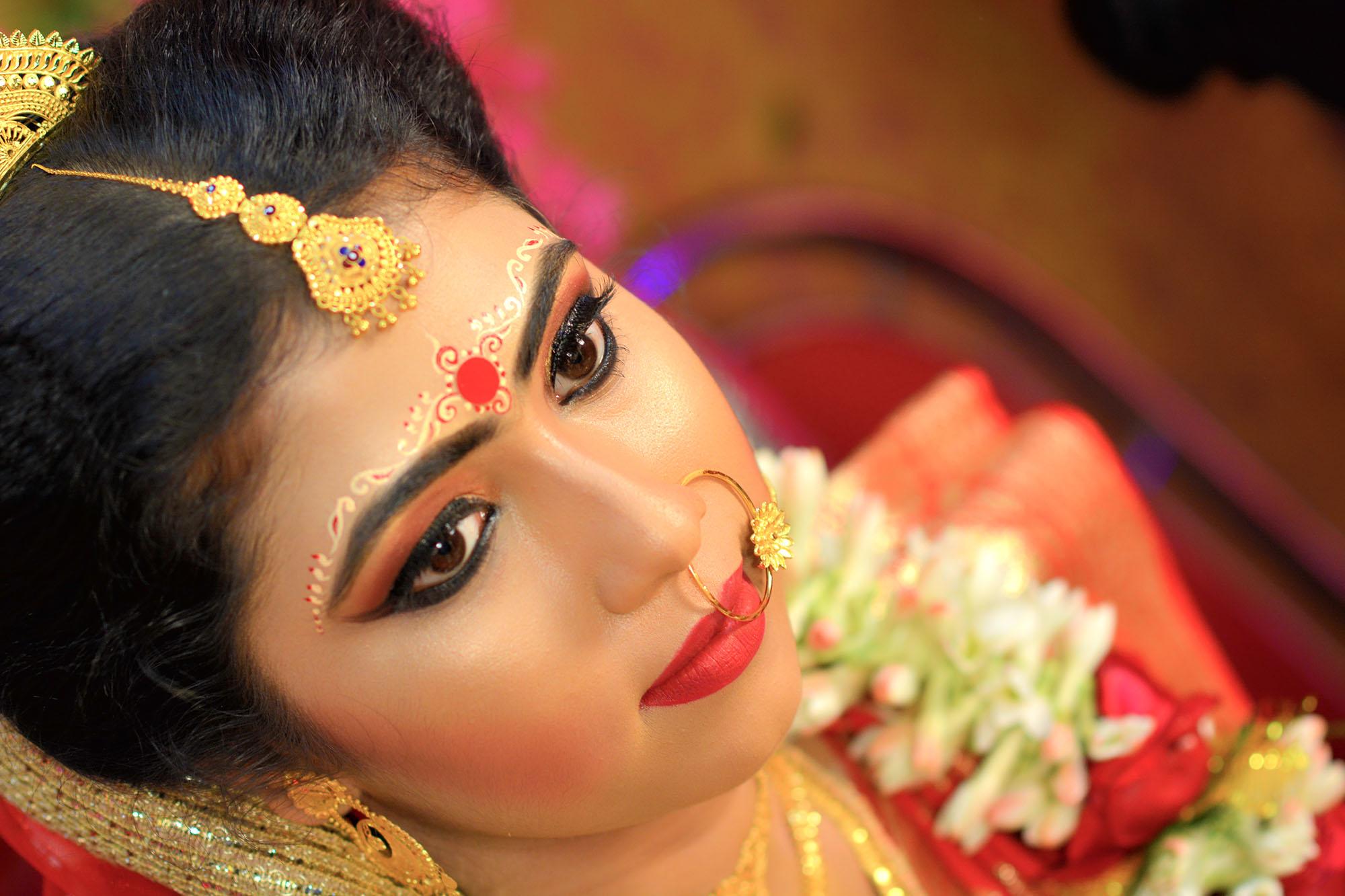 my clicks bengali bride